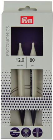 "Prym 32""/80cm Ergonomics Circular Knitting Needles (Size US 17 - 12 mm)"