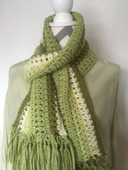 Two Sided Textured Scarf - Downloadable Pattern