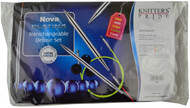 "Knitter's Pride Nova Platina 24"", 32"" & 40"" Interchangeable Circular Knitting Needles Deluxe Set (9 Pairs)"