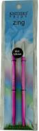 Knitter's Pride Zing 2 Pack Aluminium Normal Interchangeable Circular Knitting Needles (Size US 8 - 5 mm)