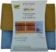 "Knitter's Pride Ginger 60-Pack 6"" Double Pointed Knitting Needles Set"