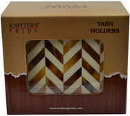 Knitter's Pride Pearly Wooden Yarn Holders
