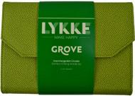 "LYKKE Grove 5"" Interchangeable Circular Bamboo Knitting Needles Set (12 Pairs)"