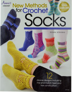 New Methods for Crochet Socks - Book