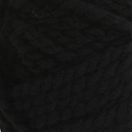 Bernat Black Wool-Up Bulky Yarn (6 - Super Bulky)