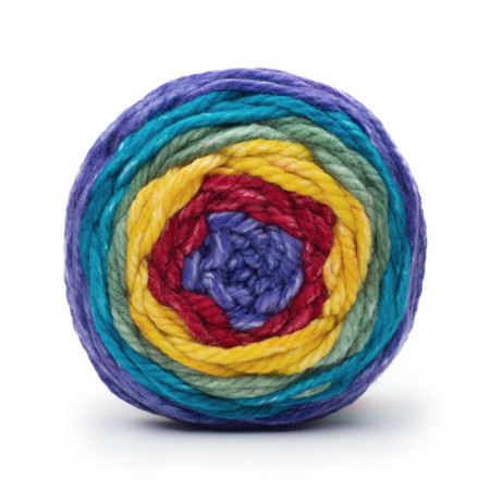 Bernat Rich Rainbow Pop Bulky Yarn (6 - Super Bulky)