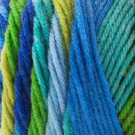 Bernat Meadow Stripes Super Value Stripes Yarn (4 - Medium)