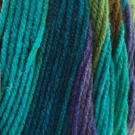 Bernat Jungle Green Stripes Super Value Stripes Yarn (4 - Medium)