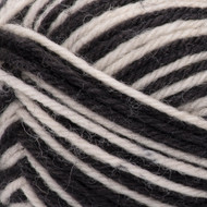 Patons Zebra Stripes Kroy Socks Yarn (1 - Super Fine)