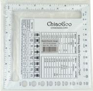 """ChiaoGoo Tools Swatch and Needle Gauge (Size 5"""" - 12 cm)"""