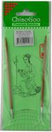 """ChiaoGoo Tools 24"""" Bamboo Circular Knitting Needles (Size US 3 - 3.25 mm)"""