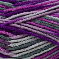 Red Heart Ultra Violet Prints Heat Wave Yarn (4 - Medium)