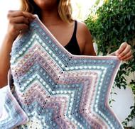 Starlet Baby Blanket  - Downloadable Pattern