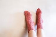 Tumbling Vines Socks - Downloadable Pattern