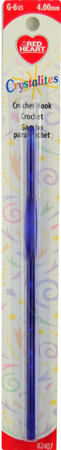 Red Heart Crystalites Crochet Hook (Size US G-6 - 4 mm)