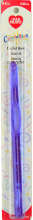 Red Heart Crystalites Crochet Hook (Size US M-13 - 9 mm)