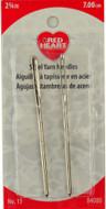 "Red Heart 2-Pack 2.75"" (7 cm) Steel Yarn Needles"