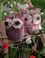 Rockefeller the Owl Ornament - Downloadable Pattern