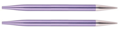 Knitter's Pride Zing 2-Pack Aluminium Normal Interchangeable Circular Knitting Needles (Size US 10.75 - 7 mm)