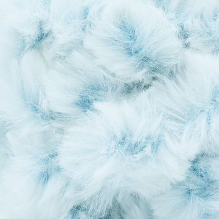 Lion Brand Blue Bengal Off The Hook Faux Fur Yarn (7 - Jumbo)