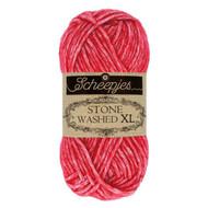 Scheepjes Red Jasper Stone Washed XL Yarn (4 - Medium)