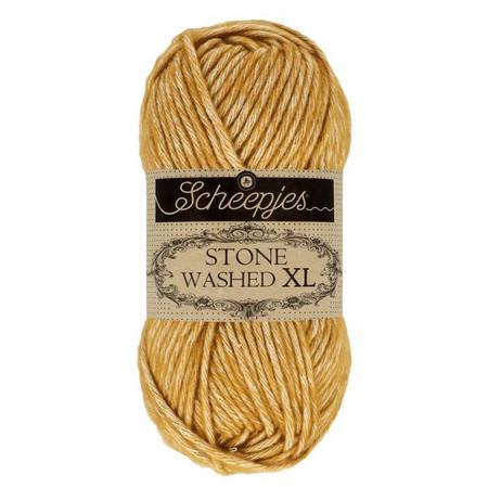 Scheepjes Yellow Jasper Stone Washed XL Yarn (4 - Medium)