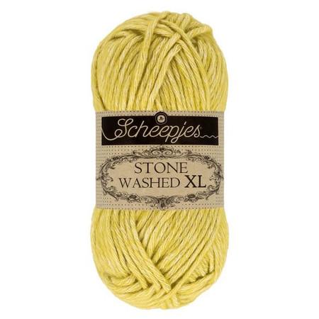 Scheepjes Lemon Quartz Stone Washed XL Yarn (4 - Medium)