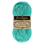 Scheepjes Green Agate Stone Washed XL Yarn (4 - Medium)