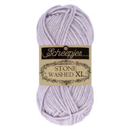 Scheepjes Lilac Quartz Stone Washed XL Yarn (4 - Medium)