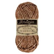 Scheepjes Brown Agate Stone Washed XL Yarn (4 - Medium)