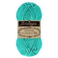 Scheepjes Turquoise Stone Washed XL Yarn (4 - Medium)