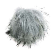 Estelle Silver Snap On Pompom