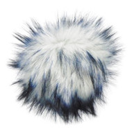 Estelle Ink Blot Snap On Pompom