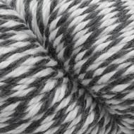 Estelle White / Steel Ragg Estelle Worsted Yarn (4 - Medium)