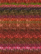 Noro #84 Reds, Greens Silk Garden Yarn (4 - Medium)
