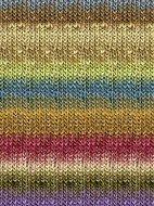 Noro #279 Browns, Blues, Deep Rose Silk Garden Yarn (4 - Medium)
