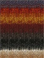 Noro #349 Burnt Orange, Wine, Greys, Taupe Silk Garden Yarn (4 - Medium)