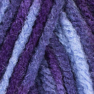 Purple Prints Comfort Yarn (4 - Medium) by Red Heart