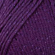 Caron Purple Sparkle Simply Soft Party Yarn (4 - Medium)
