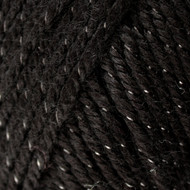 Caron Black Sparkle Simply Soft Party Yarn (4 - Medium)