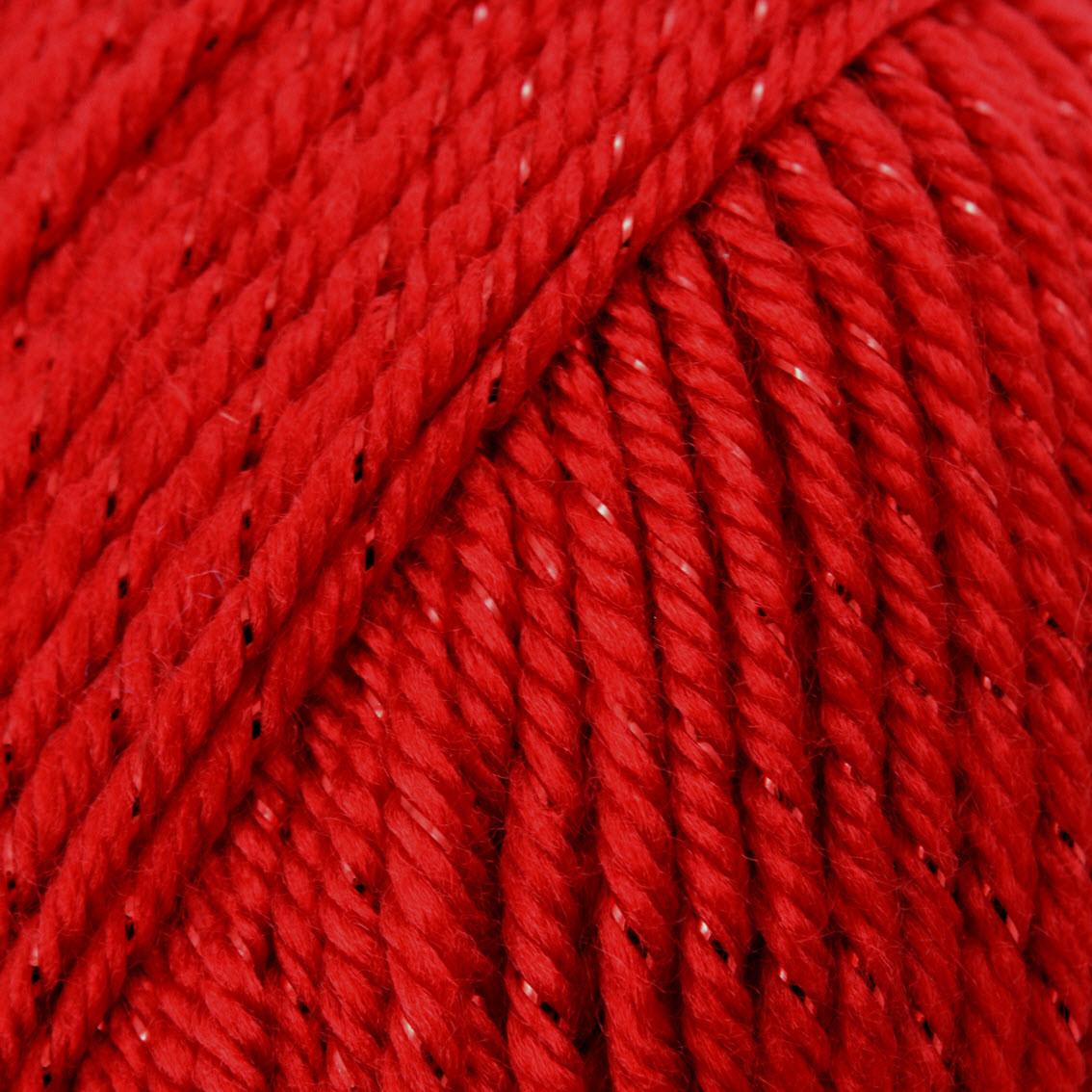 Caron Red Sparkle Simply Soft Party Yarn 4 Medium Free