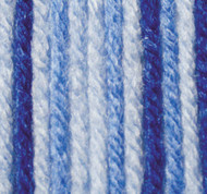 Phentex Got The Blues Ombre Worsted Yarn (4 - Medium)
