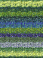 Noro #354 Yellow, Green, Blue Silk Garden Sock Yarn (1 - Super Fine)