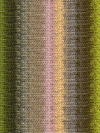 Noro #374 Sand, Pink, Peach, Olive Silk Garden Yarn (4 - Medium)