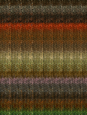 Noro #417 Brown, Red, Purple, Green Silk Garden Yarn (4 - Medium)