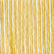 Bernat Lemon Swirl Ombre Handicrafter Cotton Yarn (4 - Medium)