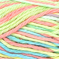 Candy Sprinkles Ombre Handicrafter Cotton Yarn - Small Ball (4 - Medium) by Bernat
