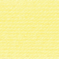 Lion Brand Pastel Yellow Babysoft Yarn (3 - Light)