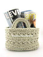 Free Pattern: Basket Revisto by Hoooked Zpagetti (Official Pattern)