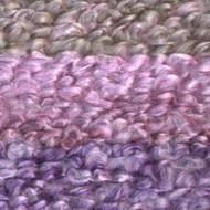 Lion Brand Lavender Stripes Homespun Thick & Quick Yarn (6 - Super Bulky)